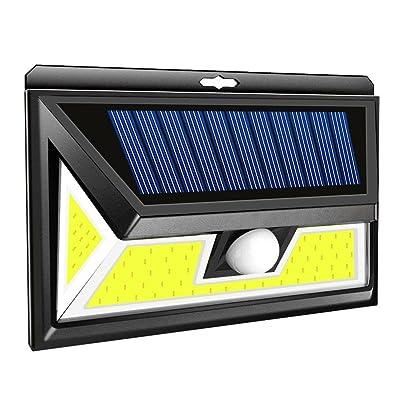 Prosperveil Lampe Solaire Détecteur De Mouvement Pir Applique Murale