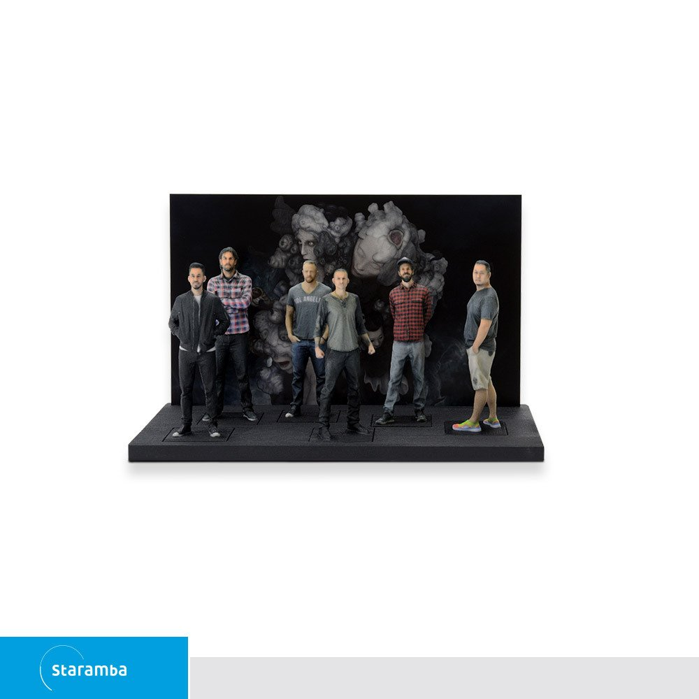 Staramba Linkin Park 3D figurines -