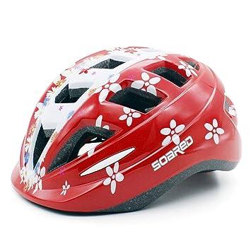 ComeLife - Casco de Bicicleta Ajustable para niños de 5 a 10 ...