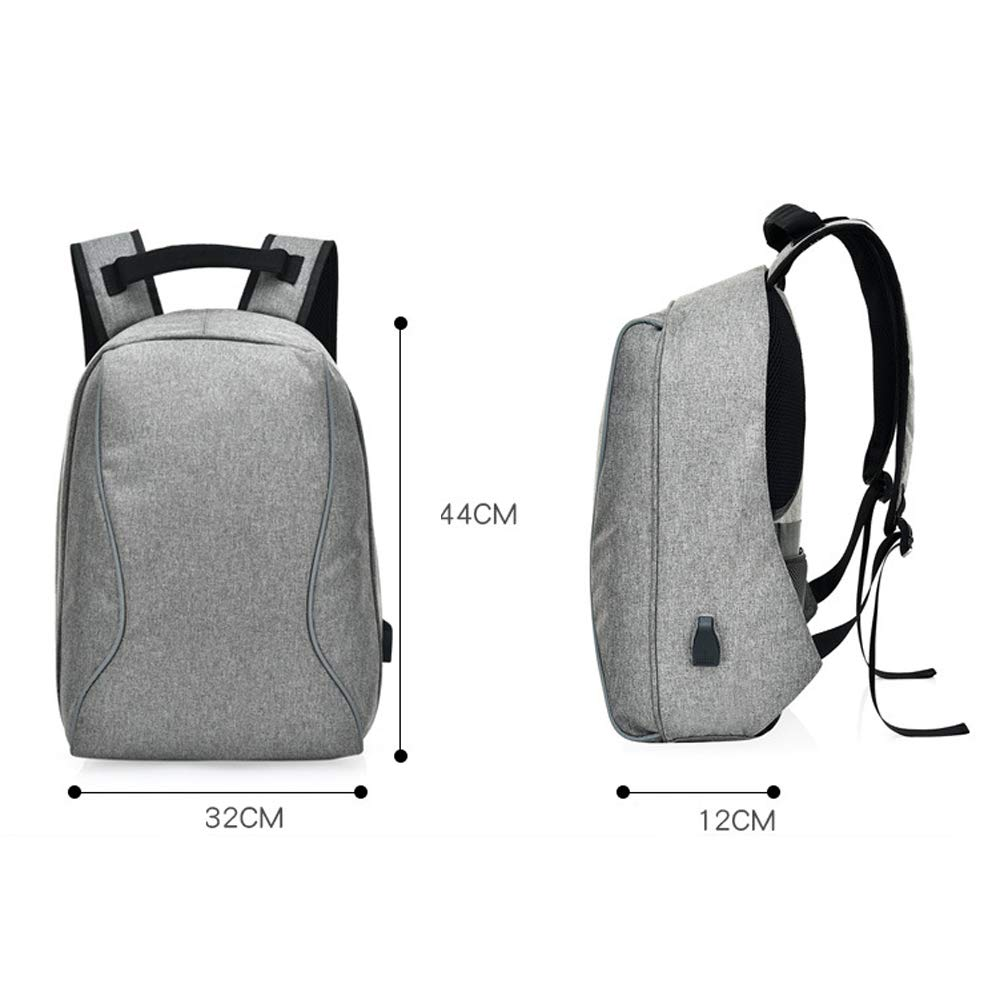 ZXL6 Backpack Leisure Fashion Travel Hiking Camping Mountaineering Rucksack Outdoor Men Women Sports School USB Academy Security Luggage Bag Lightweight