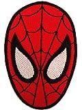Spiderman Kopf Mask Action-figure Comic-figure Superhero Comic CartoonPatch ''5,5 x 7,5 cm'' -Écusson brodé Ecussons Imprimés Ecussons Thermocollants Broderie Sur Vetement Ecusson