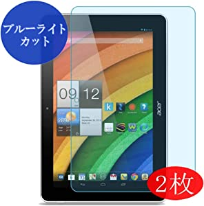 "【2 Pack】 Synvy Anti Blue Light Screen Protector for Acer Iconia a3-a10 10.1 10.1"" Anti Glare Screen Film Protective Protectors [Not Tempered Glass]"