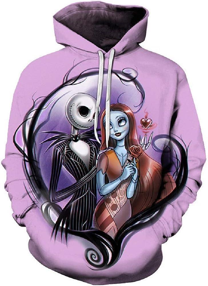 Unisex Hoodies Novelty 3D Printed Sweatshirts Pullover Zipper Jacket Sweater Coat