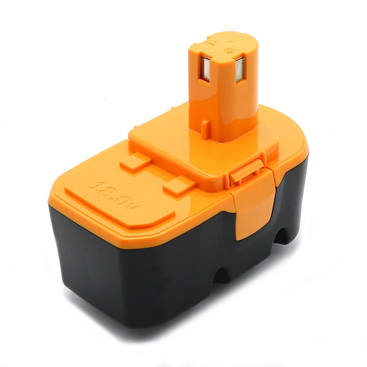 1プラス1 power-ing 18 V 3.0 AH交換用バッテリーRyobi p100 p101 Ryobi 18 Vコードレス電源ツールバッテリー  B077P3Q21S
