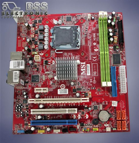 DRIVERS UPDATE: MS-7366 MOTHERBOARD