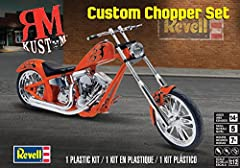 REV7324 RM Kustom Custom Chopper Set Plastic Model Kit RevellLet us rollFind your freedom on the open road. At the intersection of art, individuality, and independence you will find the American chopper. Each is a hand-picked, customized expr...