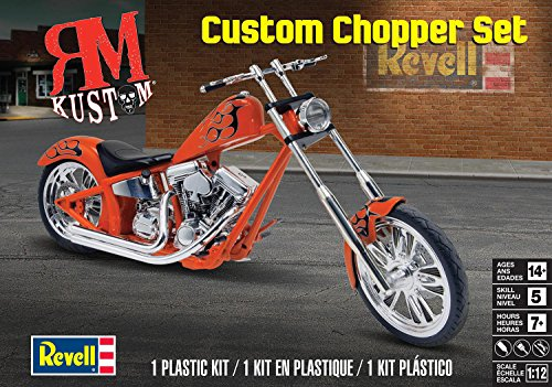 RM Kustom Custom Chopper Set 1/12 Revell Monogram (Revell Custom Choppers)