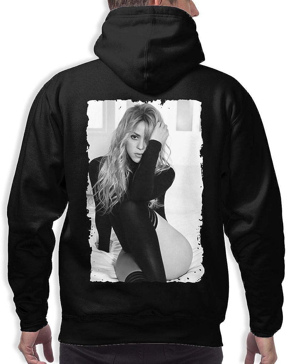 Shakira Classic 3D Printed Hip Hop Pullover Men Hooded Sweatshirt