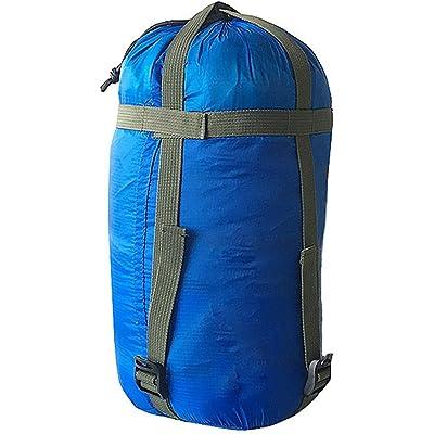 JIMITO Saco de Dormir Bolsa de Almacenamiento para Acampar Secado rápido con cordón de Almacenamiento Almacenamiento Saco de compresión