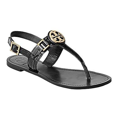 11ae9385017 Tory Burch Cassia Flat Thong Sandal French Calf Leather (9.5B
