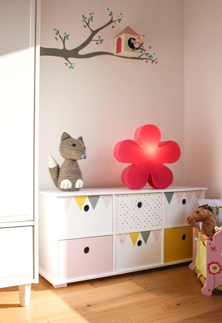 8 seasons design     Blumige Dekoleuchte Blume Shining Flower (E27, Ø 60cm, IP44, für drinnen & draußen, Garten, Wohnbereich, Diele, Kinder- & Babyzimmer) grün 578c39