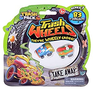 Trash Pack Wheels Take Away Blister (2-Pack) by The Trash Pack