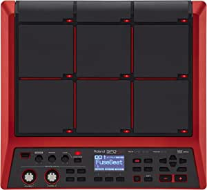 Roland SPD-SX Special Edition Percussion Sampling Pad with 16GB Internal Memory, Red