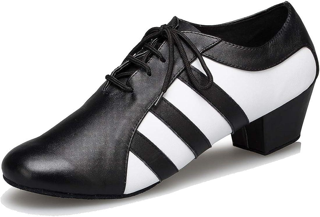 Gentlemen/'s Black Patent Leather /& Black Glitter Lace Up Dance Shoes