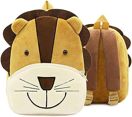 Children/'s Small Soft Cartoon Animal Rucksack Schoolbag Backpack Kids