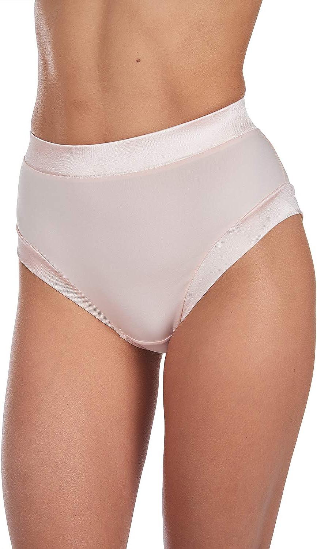 CATHERINE MALANDRINO Womens Plus Size 6 Pack Everyday High Waist Micro and Shine