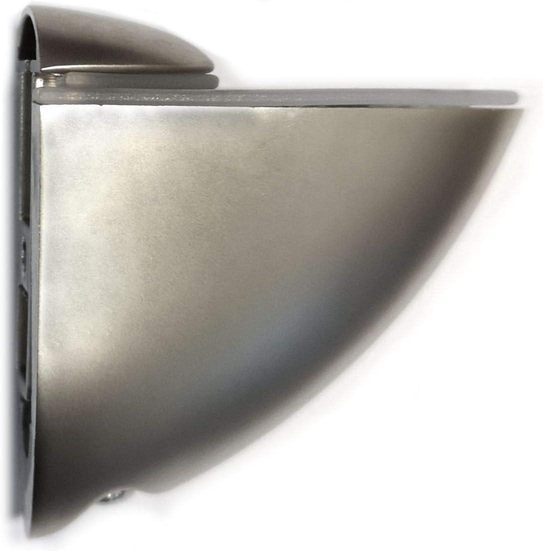 1 soporte ajustable para estante de aluminio pel/ícano de 40 x 44 mm Mini