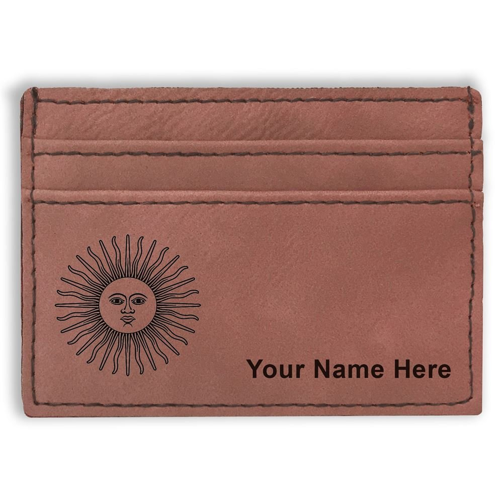 Flag of Argentina Money Clip Wallet Personalized Engraving Included