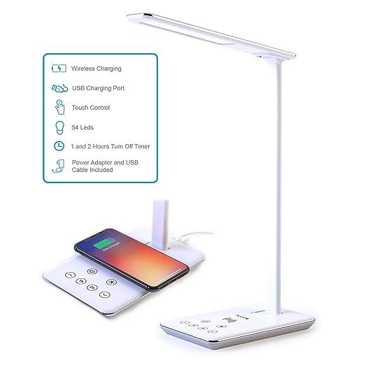 Lámpara Escritorio LED FLUXS - Carga Inalámbrica Wireless y ...