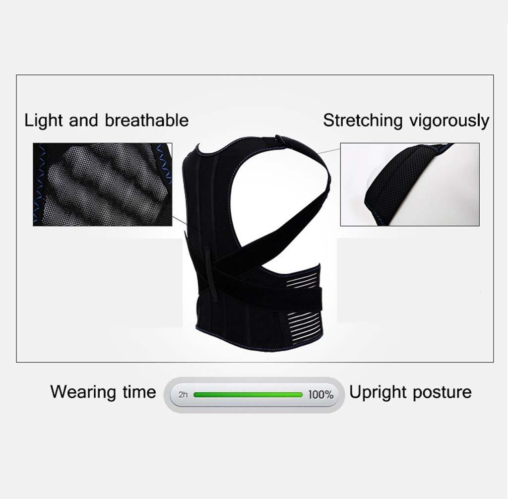 GAIHU Adjust Posture Corrector - Support Shoulder - Lumbar Support Straps For Men And Women,M by GAIHU (Image #5)