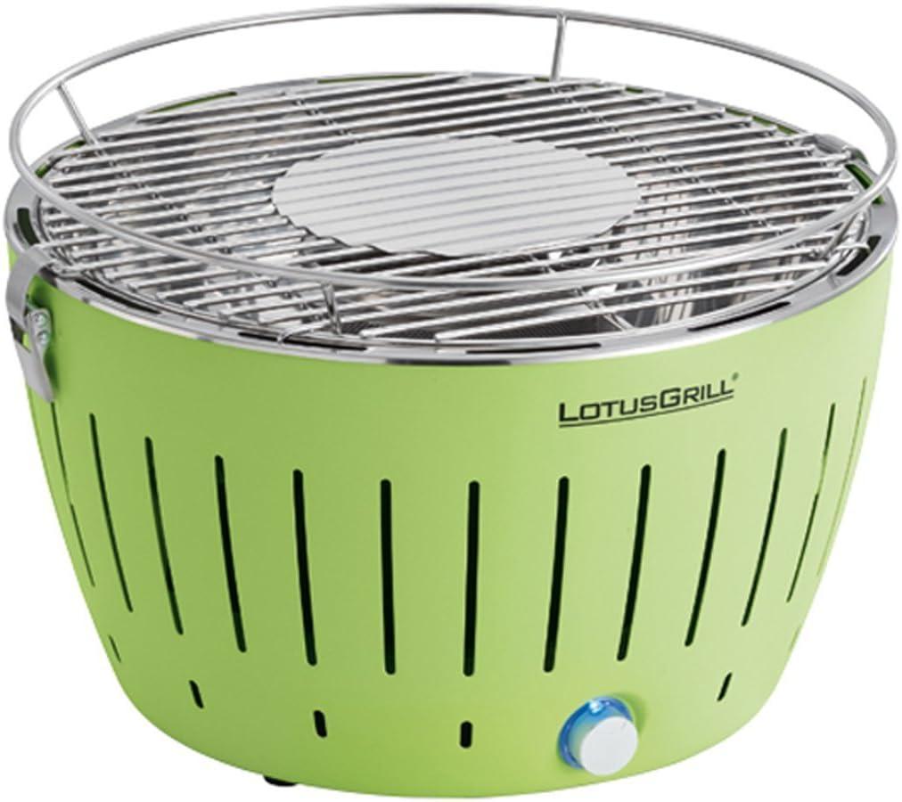 LotusGrill G-GR-34 - Barbacoa de carbón sin humo, color verde lima