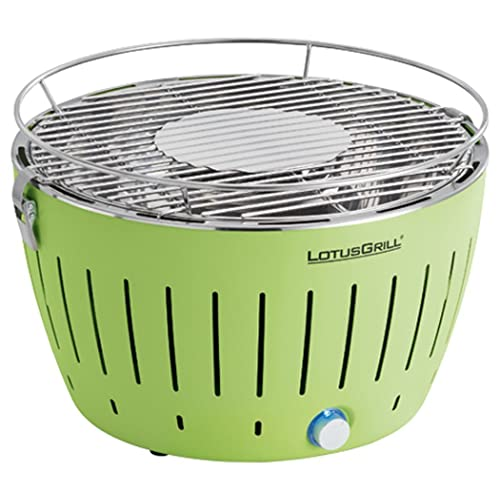 LotusGrill G-GR-34 Holzkohlengrill Farbe Limone 35 x 26 x 234