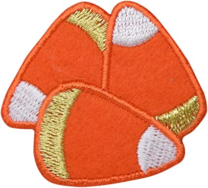 2+3//4 x 1 inch Embroidered Iron-On Applique Fish