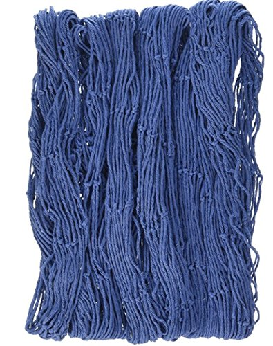 Nautical Decorative Blue Fish Netting - 4' x 12' (2-Pack)