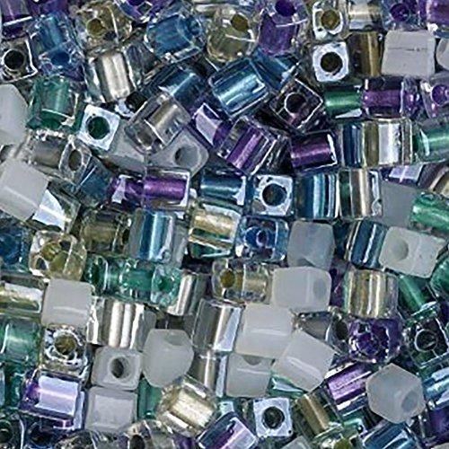 Multi Blue Glass Bead - 8