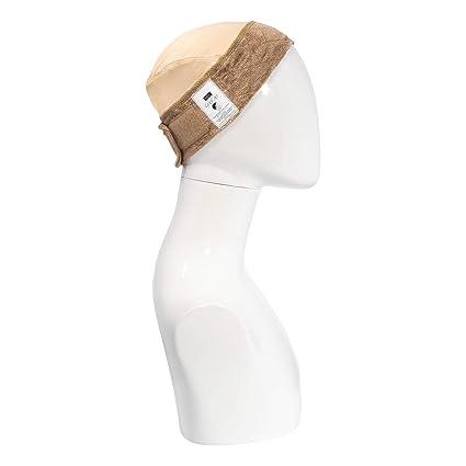 gripcap por Milano colección All-in-1 wigrip comodidad banda y peluca en marrón