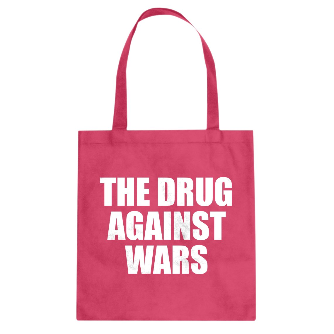 Indica Plateau The Drug Against Wars Cotton Canvas Tote Bag