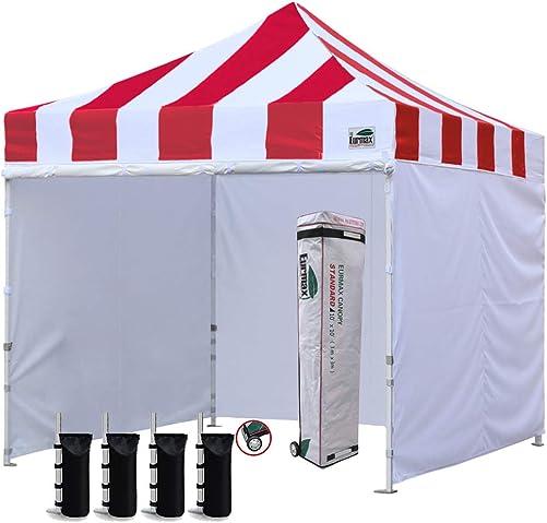 Eurmax 10 x10 Ez Pop-up Canopy Tent Commercial Instant Canopie