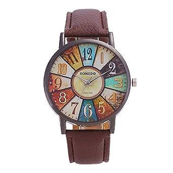 Promoción Relojes de cuarzo para mujer modelo retro reloj de pulsera de dial digital Reloj de