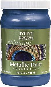 Modern Masters ME655-32 Metallic Sapphire, 32-Ounce