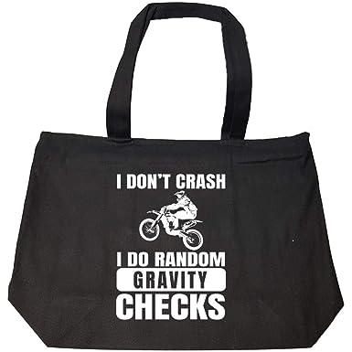 66d9403835 Amazon.com  Dirt Bike Motocross Crash Gravity Checks - Fashion Zip ...