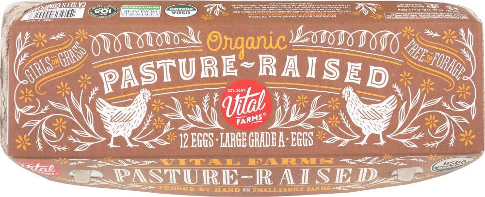 1 Dozen Farm FRESH Chicken Eggs Free Range Pasture Raised Organic