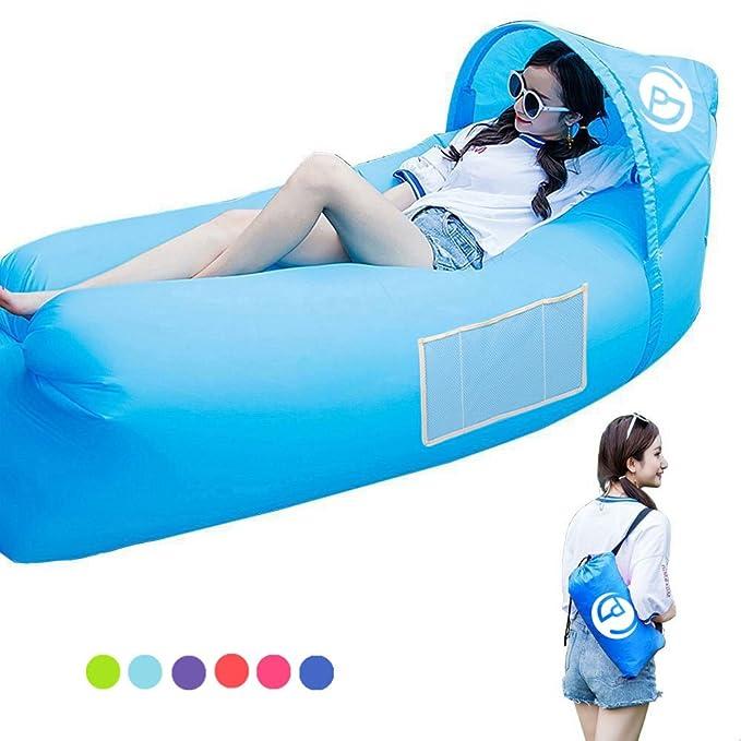25 opinioni per Divano ad aria, poltrona gonfiabile impermeabile divano / letto gonfiabile