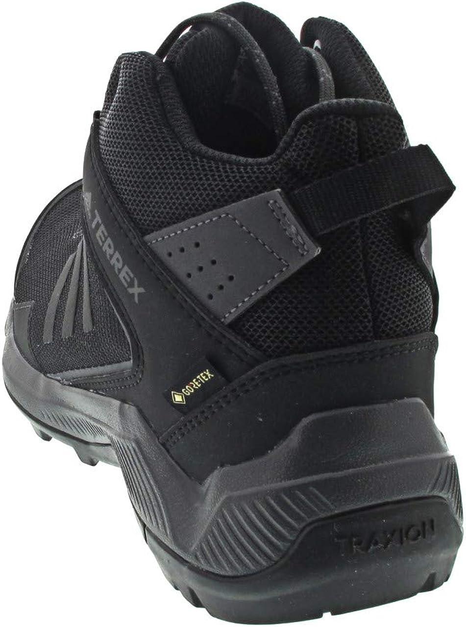 adidas Terrex Eastrail Mid GTX, Zapatillas de Deporte para Hombre Gris Carbon Negbás Gricin 000