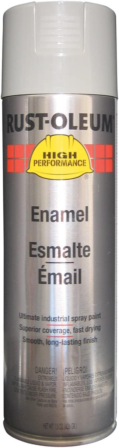Rust-Oleum V2183838 V2100 System Enamel Spray Paint, 15-Ounce, Light Machine Gray