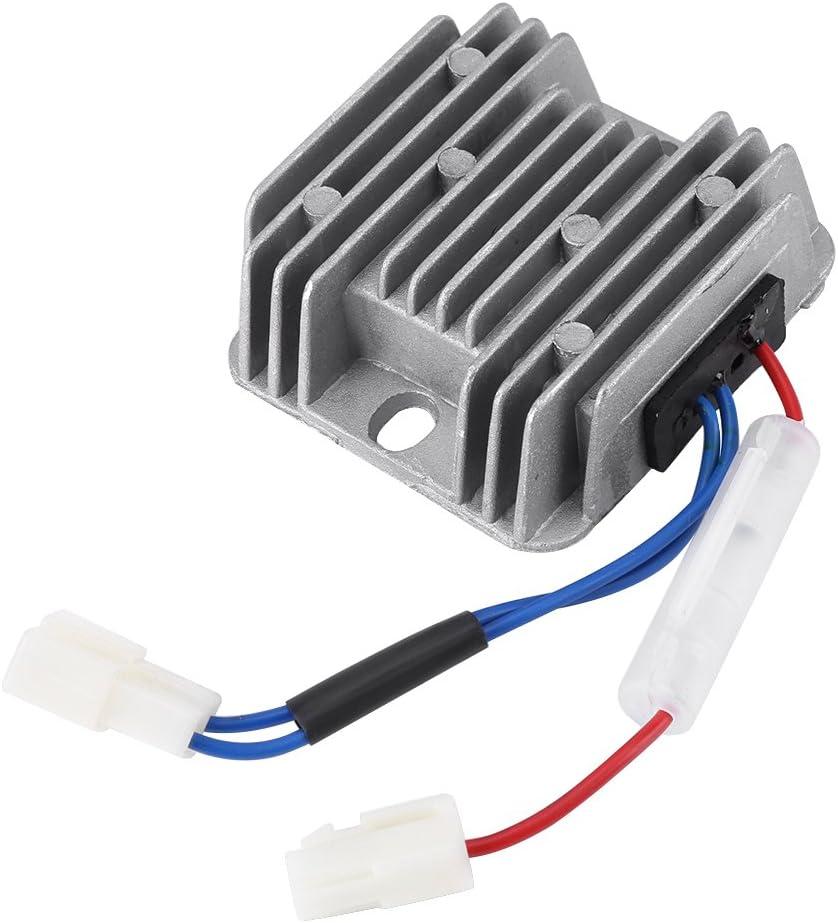 Controlador de Fuente de Alimentación Estabilizador de Voltaje Regulador de Voltaje Automático 12V DC AVR 178F / 186F para Generador de KDE3500 5000 6500 6700
