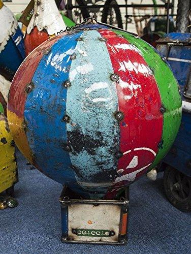 Black Country Metal Works Brocksfort Hot Air Balloon Recycled Metal