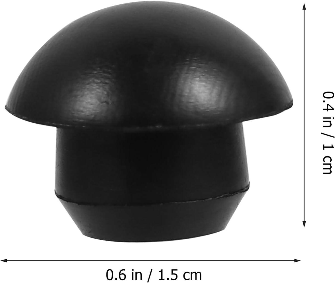 VILLCASE 20 Pi/èces Bouchons de Remplissage de Tige de Cric Horizontal Hydraulique Bouchons de Prise Horizontaux /à Piston