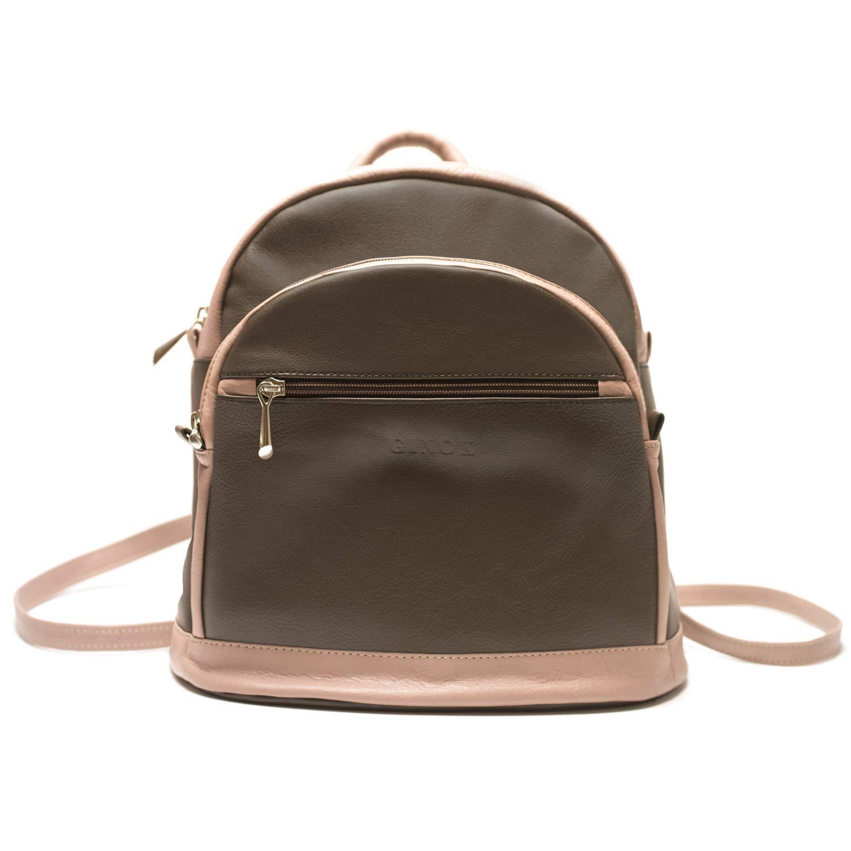 Bolso mochila de mujer - Ginok marca española, hecho a mano en ...