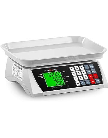 Steinberg Bascula Comercial Balanza Digital de Comercio SBS-PW-301CA (30 kg /