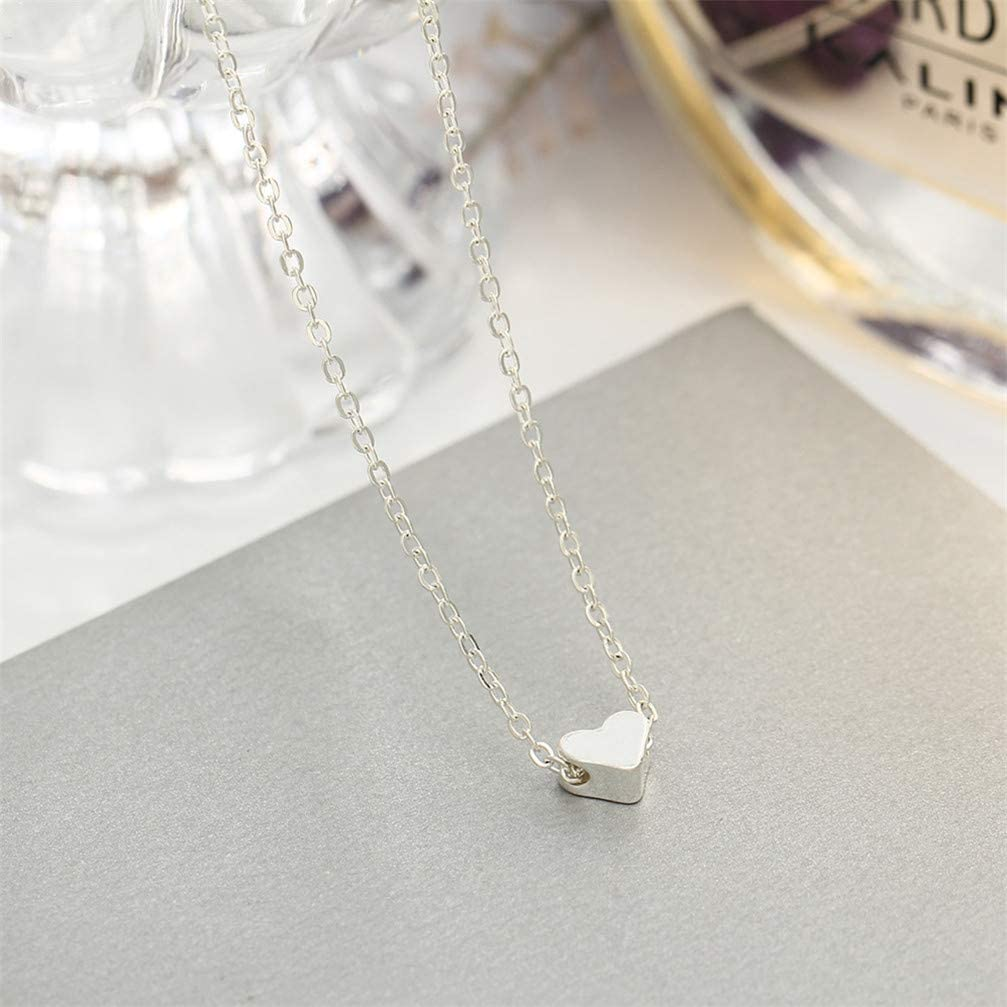 Gold Color Myhouse Heart Pendant Necklace Alloy Chains Trendy Charm Classics Elegant Women Party Jewelry Accessories