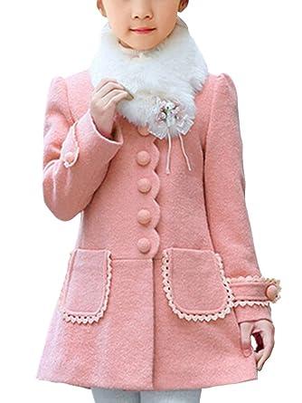 468ea198e7a0 Blouson Enfants D hiver Vêtement Pour Manteau 3 Veste 14ans Fille w4qSRRp