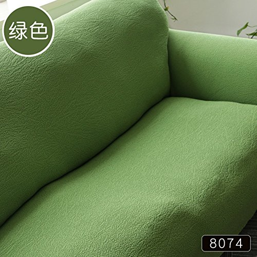 Solid color Stretch couch covers Elastic Sofa slipcover,Elastic slipcover Full-cover Sofa towel Furniture protector For 1 2 3 4 cushions For living room all-inclusive set of four seasons-B sofa by AMYDREAM (Image #3)