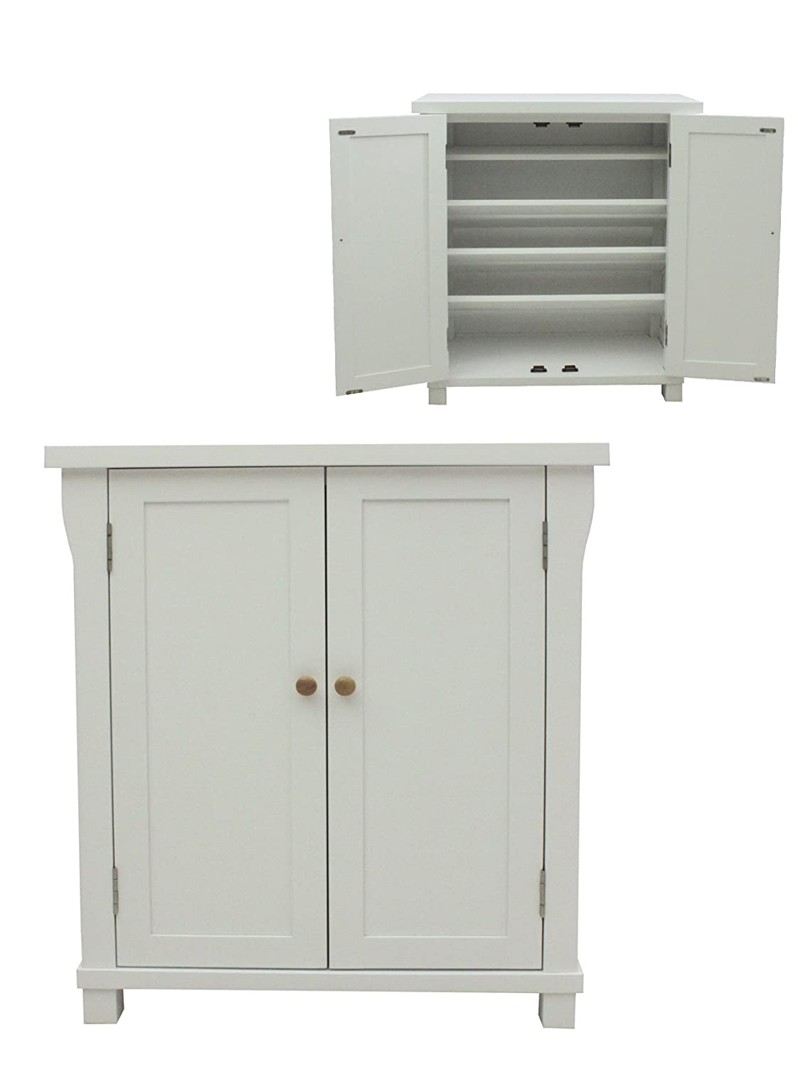 dp zoe drawer dining iohomes with cabinet cappuccino kitchen com shelf shoe cupboard amazon