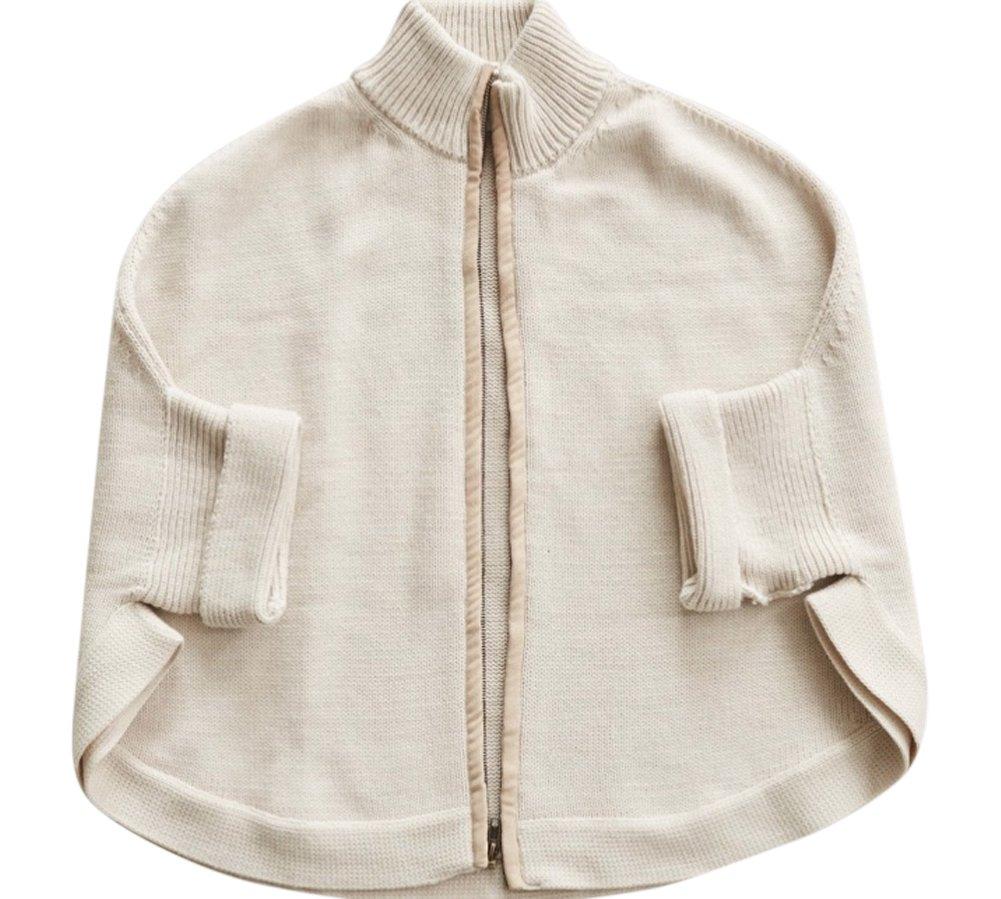 Mer Sea Travel Sweater - Zipper Cardi (Oyster) …