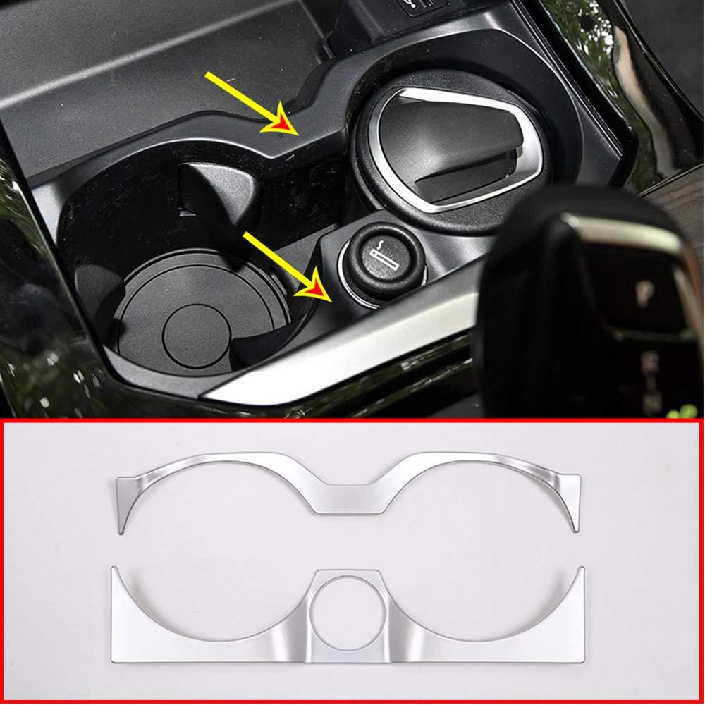 Per X3/G01/2018/anno auto ABS cromato opaco Cup Holder decorazione telaio Trim Accessories